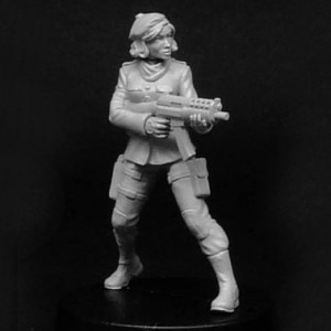 Female Resistance Fighter A