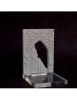 Fusion: Ruined Arched Door