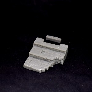 Fusion: Ruined Temple Steps Floor 40mm square