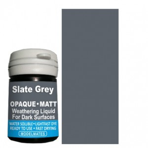 Slate Grey Opaque Weathering Liquid