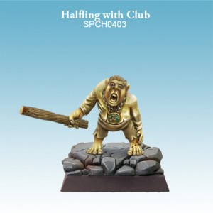 Halfling Darkling with Club