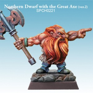 Northern Dwarf with Great Axe (Verison 2)