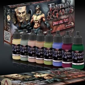 Unnatural flesh Paint Set