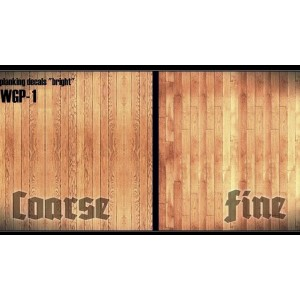 Bright Wood Grain Decals
