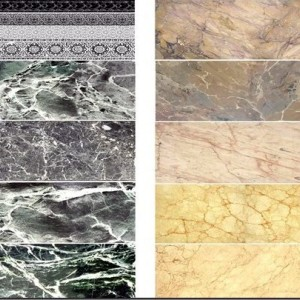 Black and Beige Marble Decals