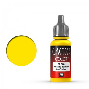 Game Color: Sun Yellow