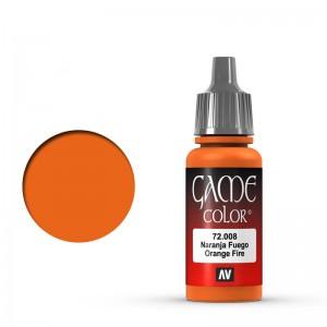 Game Color: Orange Fire
