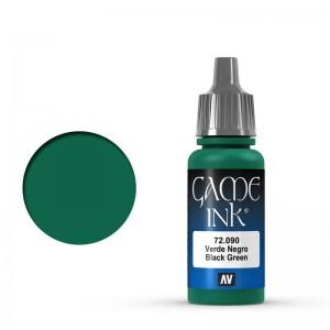 Game Color Ink: Black Green