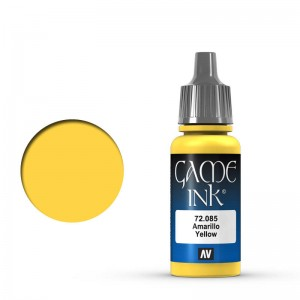 Game Color Ink: Yellow