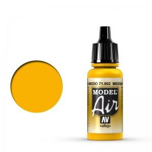 Vallejo Model Air: Medium Yellow