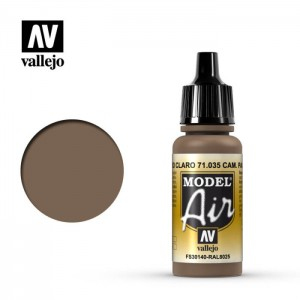 Vallejo Model Air: Camouflage Pale Brown