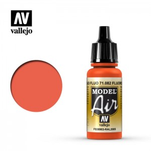 Vallejo Model Air: Flourescent Red