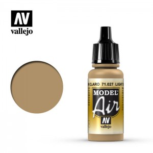 Vallejo Model Air: light Brown