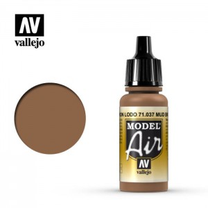 Vallejo Model Air: Mud Brown