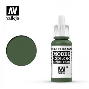 Vallejo Model Color: Flat Green