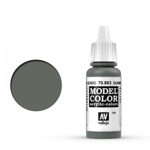 Vallejo Model Color: Gunmetal Grey