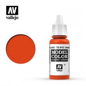 Vallejo Model Color: Orange Red