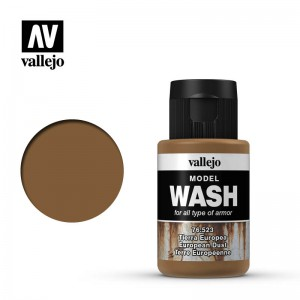 European Dust Model Wash