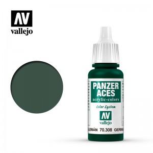 Vallejo Panzer Aces: Green tail Light German