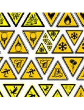 Warning Sign Decals