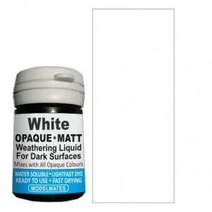 White Opaque Weathering Liquid