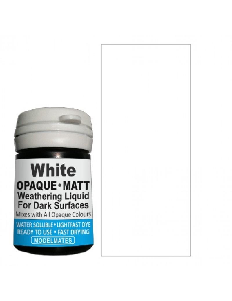 White Opaque Weathering Liquid