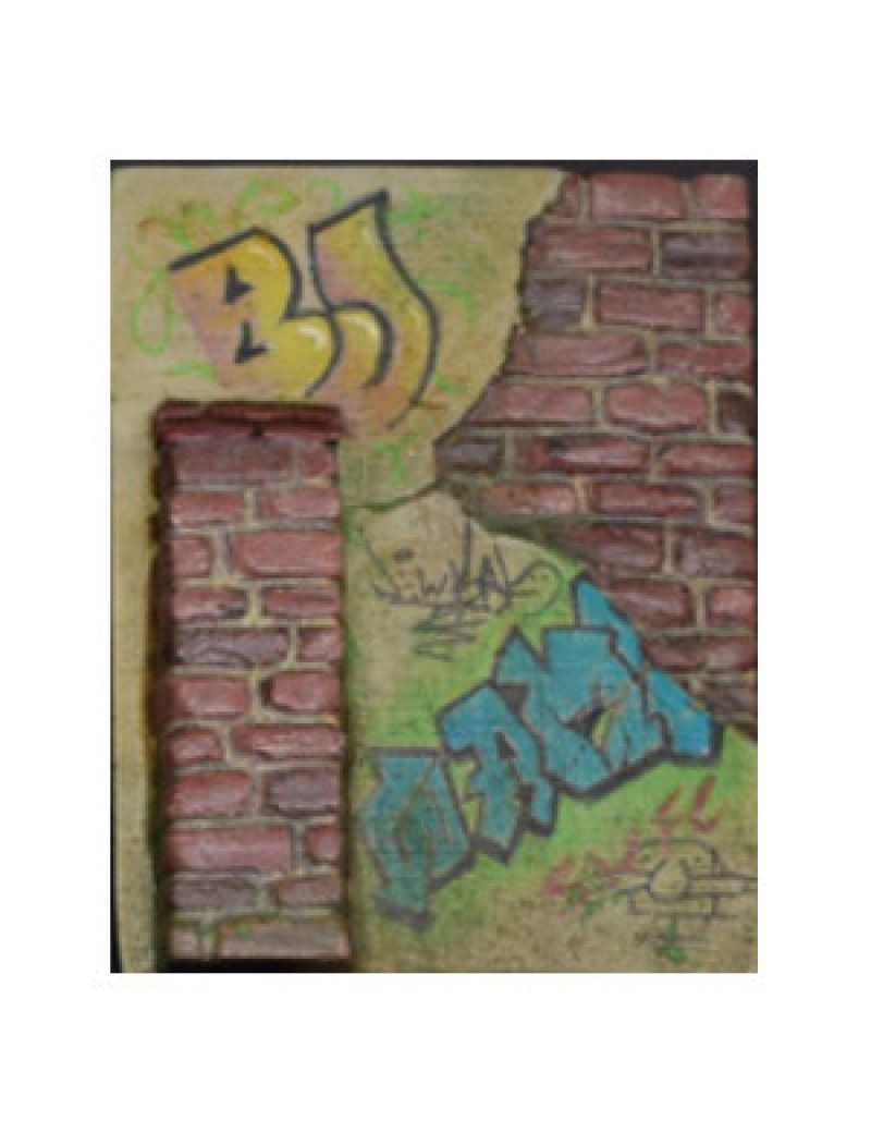 Fusion:Buttressed Brick Wall