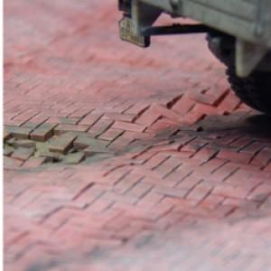 Flexway paving (Brick Red)