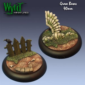 40mm Graveyard Base Inserts
